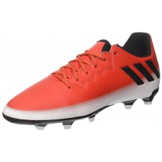 BA9148 Adidas Messi 16.3 FG Junior Football Boots Red