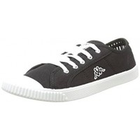 303JBI0_901 Kappa Dami Men's Trainers Black
