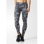 AB7162 Adidas ULT AG Tights Black White Leggings