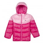 M67402 Adidas LK Kids Down Jacket Pink