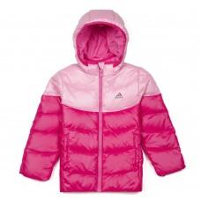 M67402 Adidas LK Kids Down Jacket Pink