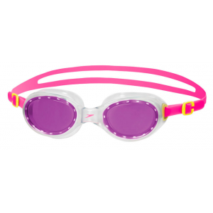 Speedo Futura Classic Junior's Goggles Pink-Purple