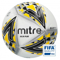 Mitre Delta Plus Professional Ball - Fifa Quality Size 4 & 5