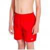 "Speedo Boys Solid Swim Shorts 15"" Junior Red"