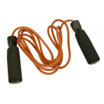 UFE 2.7m Leather Jump Rope Foam handles