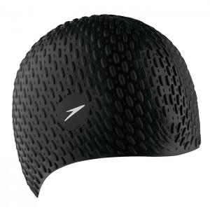 Speedo Swimming Bubble Cap Black