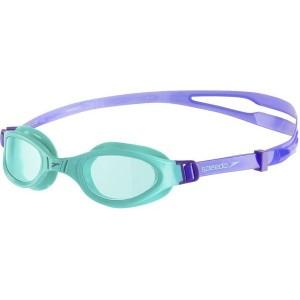 Speedo Juniors Futura Plus Goggles Green Purple