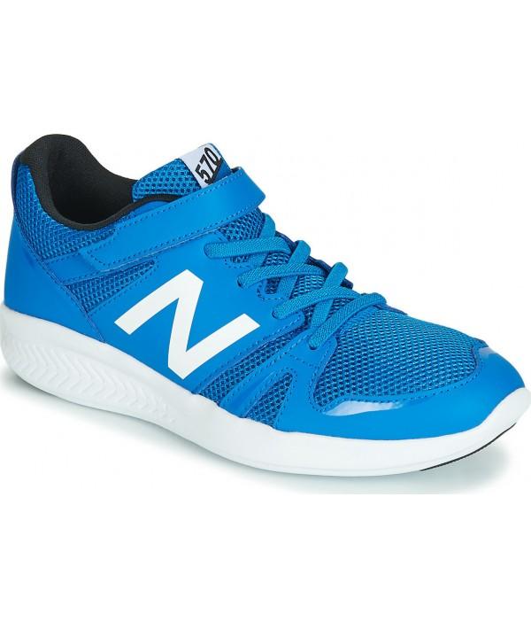 new balance child trainers blue
