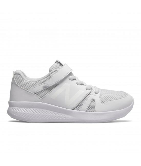 YT570WW New Balance Kids White Trainers