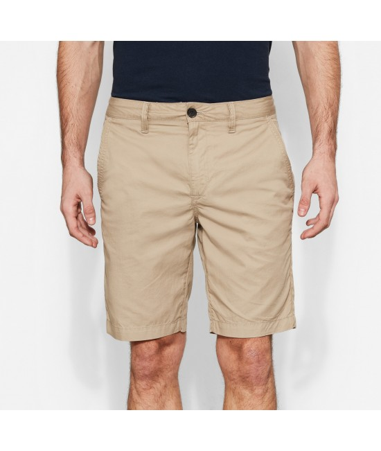 Timberland Men's Chino Cotton Shorts Beige