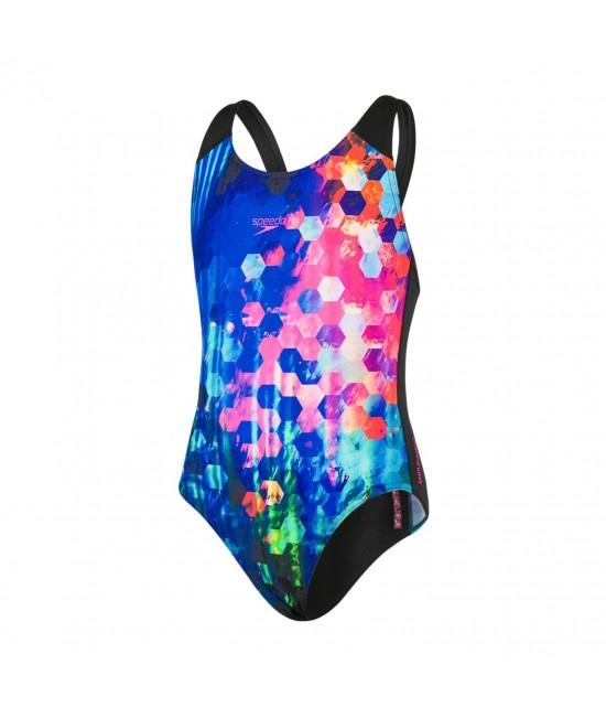 Speedo Girls Digital Splashback Swimsuit