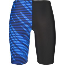 Speedo Allover Panel V Cut Jammer Blue/Black