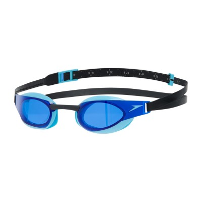 Speedo Adult Fastskin Elite Goggles Blue/Black