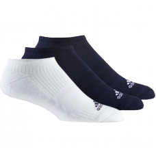 AA5497 Adidas 3PK Training Sock White/Navy/Black (Pack of 18)