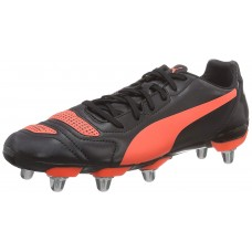 Puma Men's H8 Black Red Rugby Boots