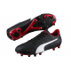 Puma Adult Classico FG Football Boots Black/Red