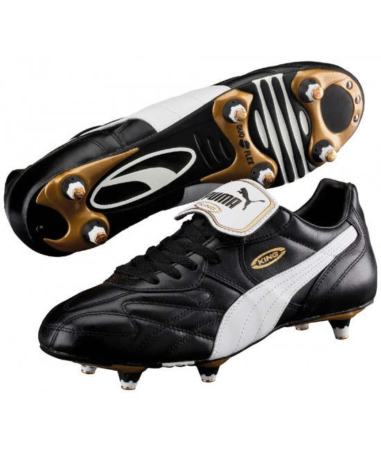 Puma Adult King Pro SG Football Boots Black/White