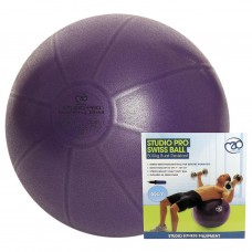 Fitness Mad Yoga 500kg Swiss Ball & Pump 55cm Purple