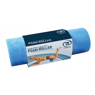 Fitness Mad Foam Roller Blue 18""