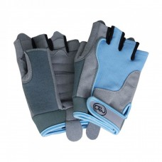 Fitness Mad Women's Cross Training Fitness Gloves Blue