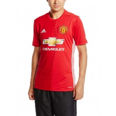 Adidas Men's  MUFC HOME Football Official Jersey T-Shirt