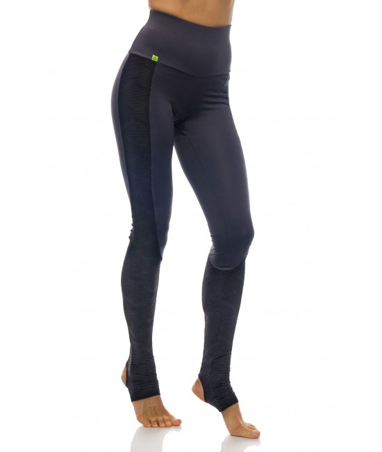 Anahata Pro Yoga Women's  Stirrup Tights  Grey