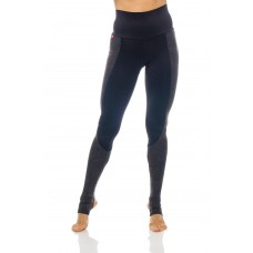 Anahata Pro Yoga Women's Stirrup Tights  Black
