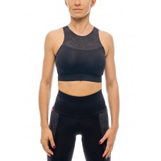Anahata Pro Yoga Sports Bra Black