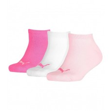 Puma KID'S Invisible Socks ( Pack of 3) Pink