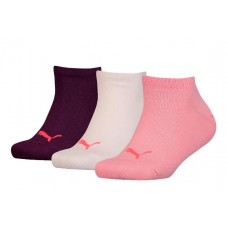 Puma KID'S Invisible Socks ( Pack of 3) Rose Water