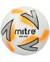 Mitre Impel Plus Training Ball Size 3,4 & 5 White/Silver/Orange
