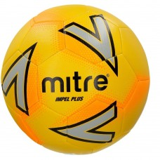 Mitre Impel Plus Training Ball Size 3,4 & 5 Yellow/Silver/Orange