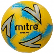 Mitre Impel Max Training Ball Size 3,4 & 5 Yellow/Silver/Blue