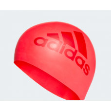 Adidas Silicon Graphic Swimming Cap Red Adult
