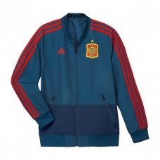 Adidas Official Spain Presentation Junior's Jacket Blue