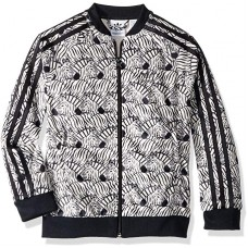 Adidas Originals  Junior's  Zebra SST Track Jacket