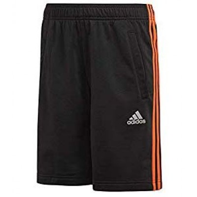 DJ1255 adidas YB FTB 3S  Junior's Black Shorts