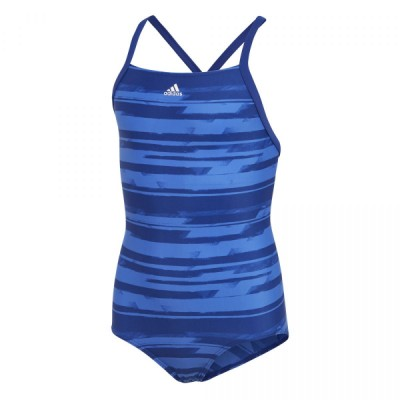 DL8779 adidas YG AOP 1PC Junior's Swimsuit