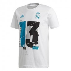 Adidas Real Madrid UCL  Junior Cotton T-shirt White
