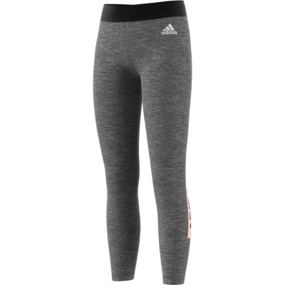 DJ1383 adidas YG ID LIN Junior's Grey Tights