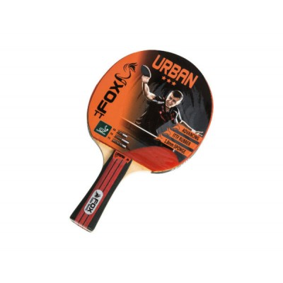 Fox TT Urban 3 Star Table Tennis Bat Multicolour