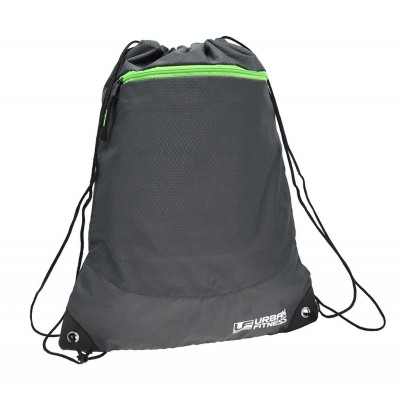 UFE Fitness Drawstring Bag Black