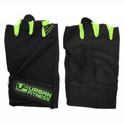 UFE Fitness Training Glove Black/Green
