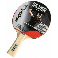 Fox TT Silver 2 Star Table Tennis Bat in Grey