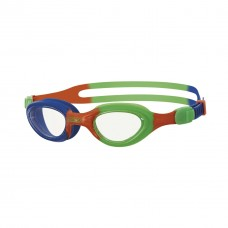 Zoggs Kids Little Super Seal Swimming Goggles  Blue/Orange/Green/Clear