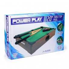 PowerPlay Table Top Pool Game 20 Inch