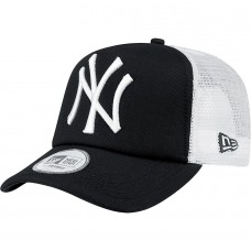 New Era Clean Trucker New York Yankees Adult Cap Black