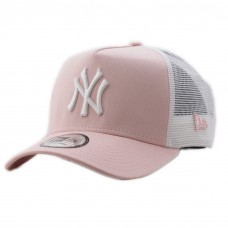New Era Clean Trucker New York Yankees Cap Adult Pink