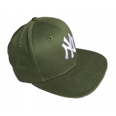 New Era League Essential Youth New York Yankees Baseball Cap Khaki Green