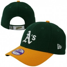 New Era League Oakland Athletics 9Forty junior's Cap Green Yellow